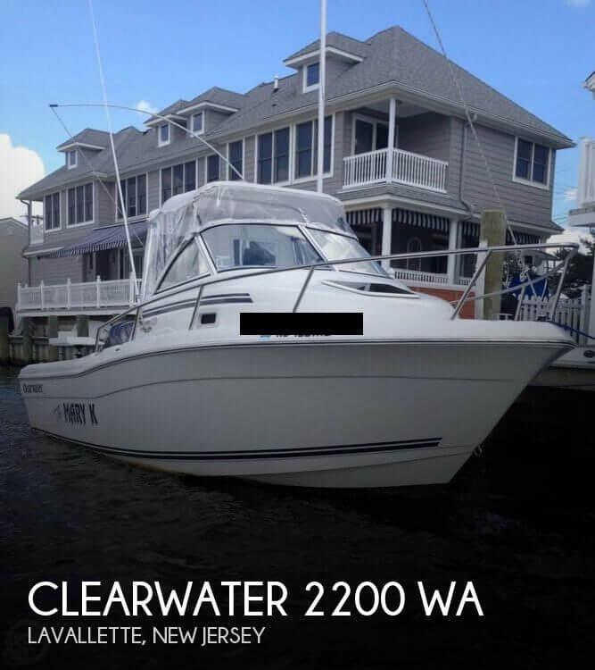 2012 Clearwater 2200 WA