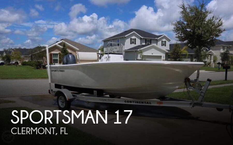 2017 Sportsman 17 Island Reef