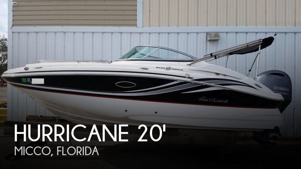 2015 Hurricane SunDeck 2000