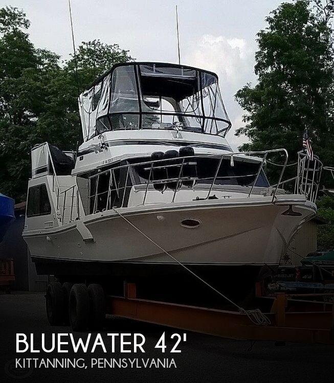 1986 Bluewater Yachts 42 Coastal Cruiser