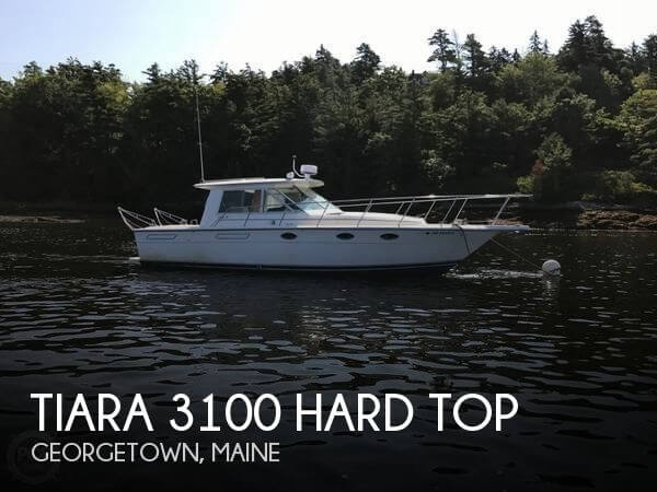 1991 Tiara 3100 Hard Top