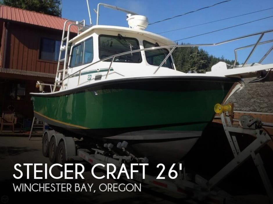 2005 Steiger Craft 26 Chesapeake