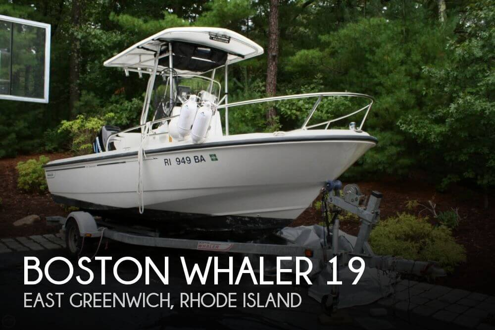 2004 Boston Whaler 190 Nantucket