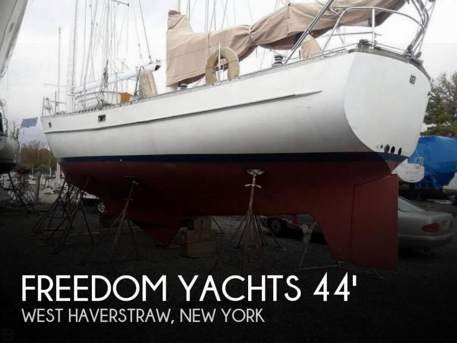1985 Freedom Yachts 44 Centerboard Cat Ketch