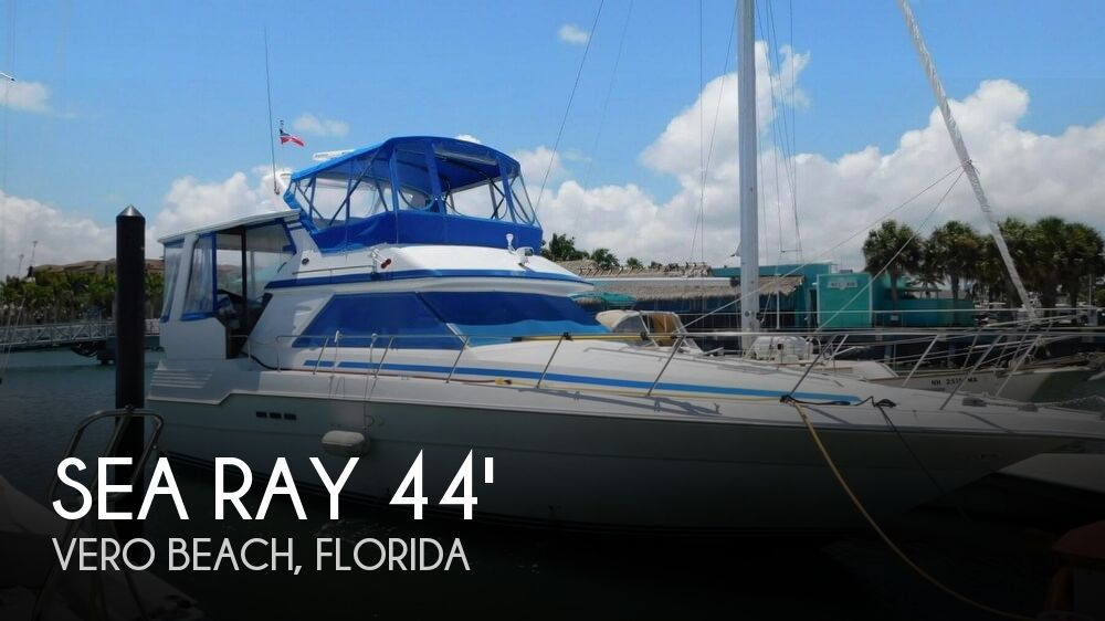1990 Sea Ray 440 Aft Cabin Re-Powered