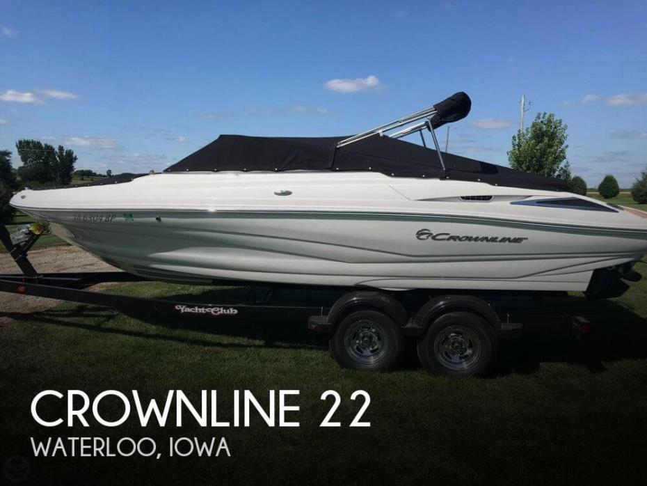 2016 Crownline 225 SS