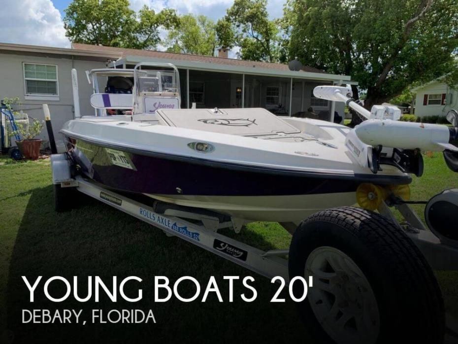 2005 Young Boats 20 Flats
