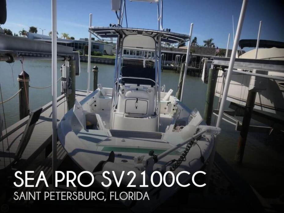 2008 Sea Pro SV 2100 CC