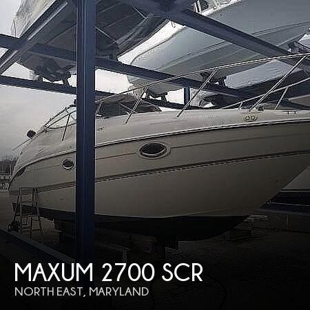 2000 Maxum 2700 SCR
