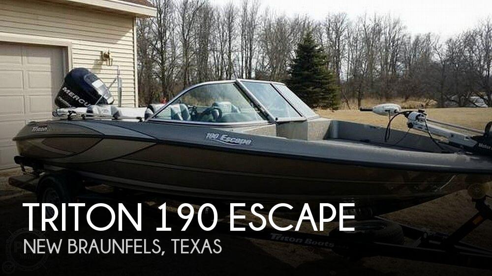 2011 Triton 190 Escape