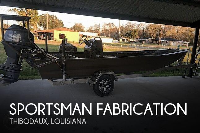 2016 Sportsman Fabrication 18CC