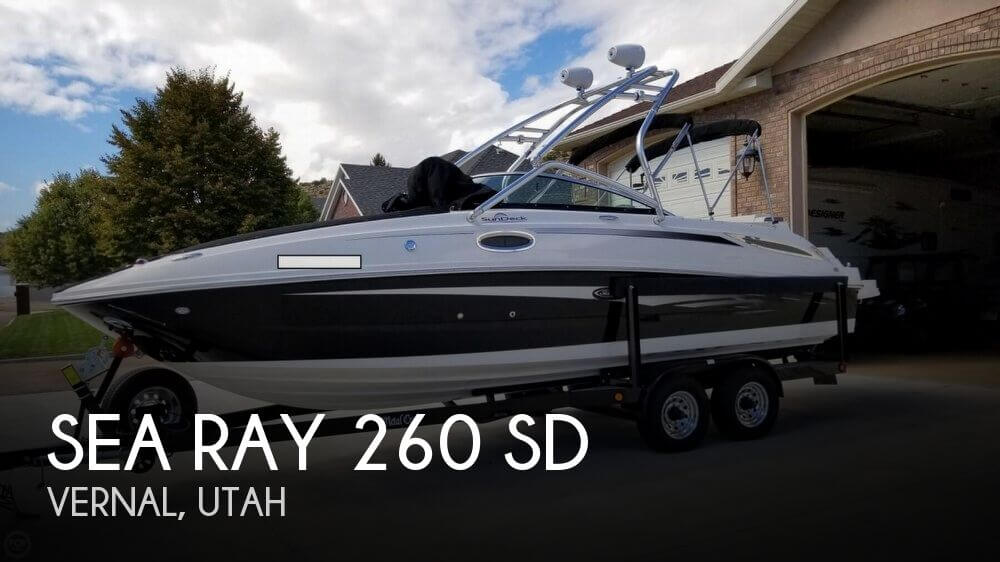 2012 Sea Ray 260 SD