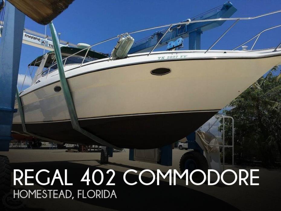 1999 Regal 402 Commodore