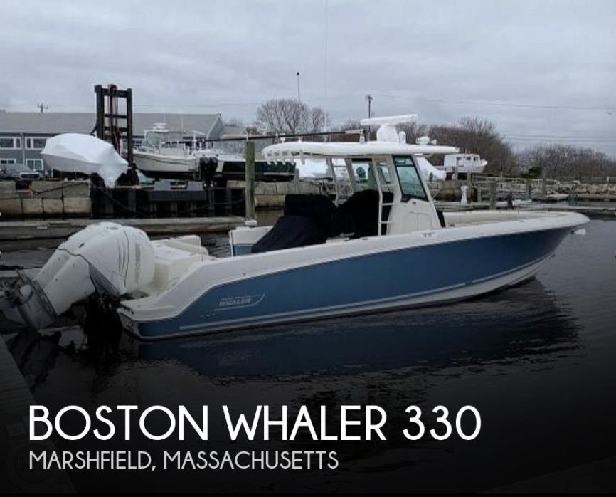 2018 Boston Whaler 330 Outrage