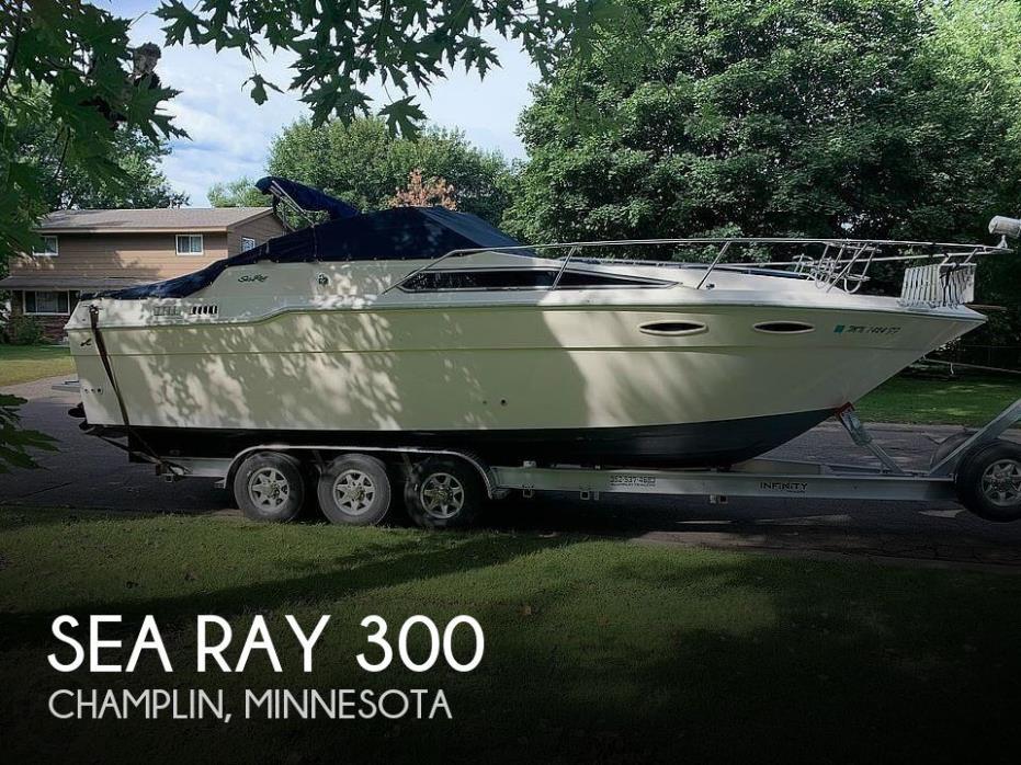 1987 Sea Ray 300 Sundancer