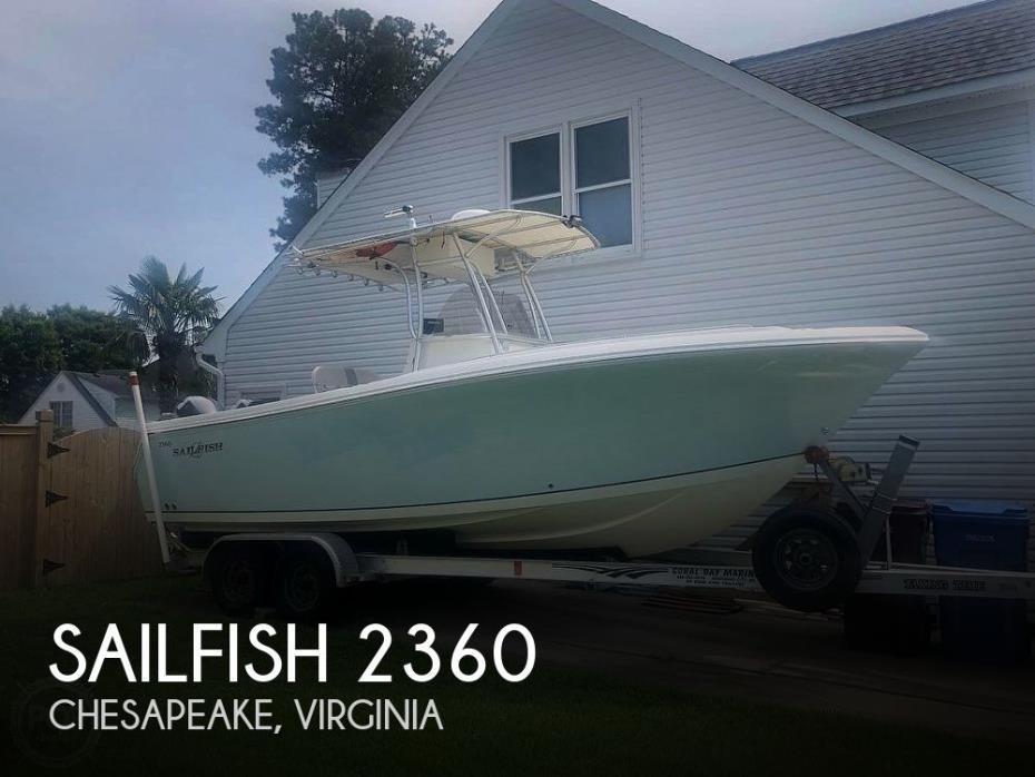2006 Sailfish 2360