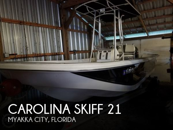 2012 Carolina Skiff 218 DLV