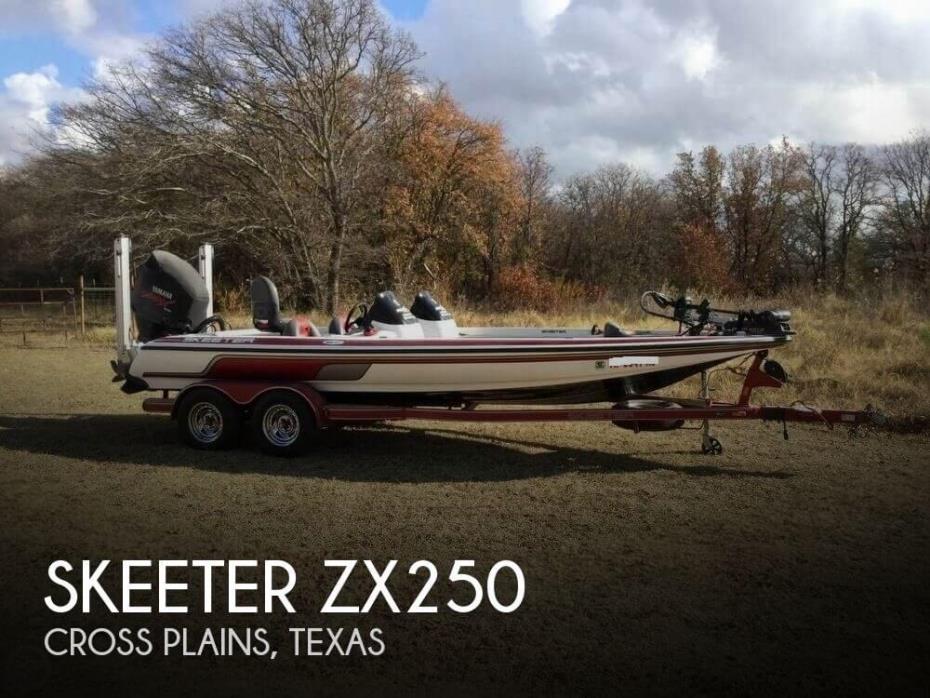 2007 Skeeter ZX250