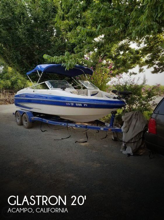 2004 Glastron GX205 Fish & Ski