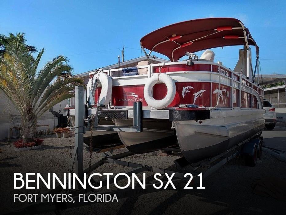 2016 Bennington SX 21