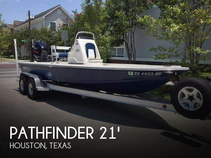 2009 Pathfinder 2100 Fusion