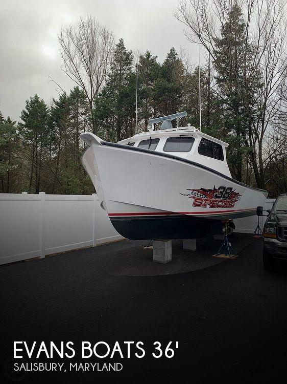 2015 Evans Boats Custom Deadrise