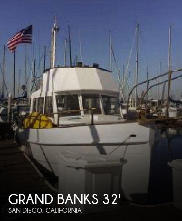 1968 Grand Banks 32 Sedan