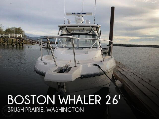2007 Boston Whaler 255 Conquest