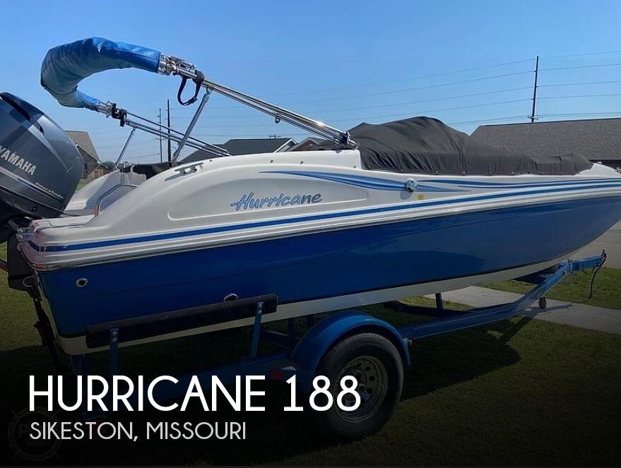 2012 Hurricane 188 Sundeck Sport