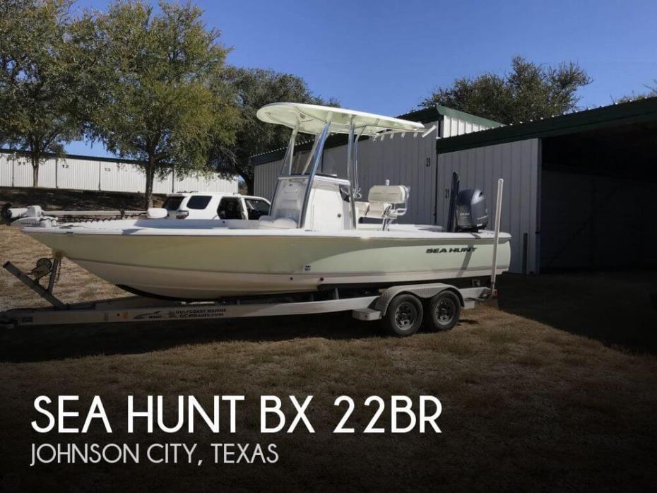 2016 Sea Hunt BX 22BR
