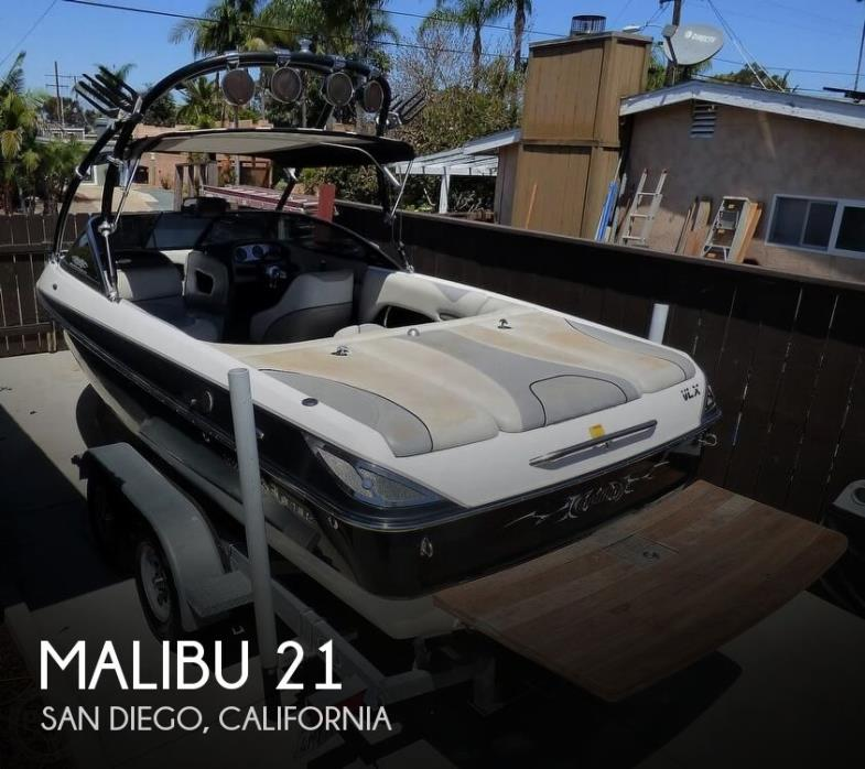 2005 Malibu Wakesetter VLX 21