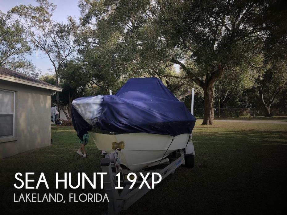 2013 Sea Hunt 19xp
