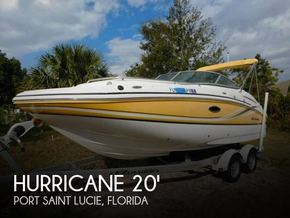 2013 Hurricane 2000 Sundeck