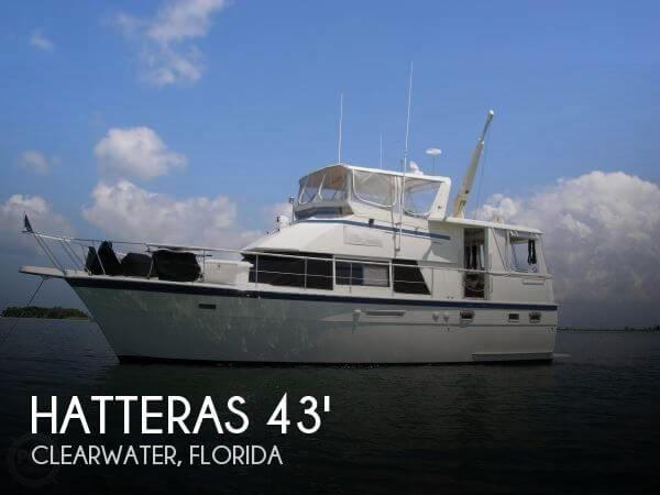 1986 Hatteras 43 Double Cabin