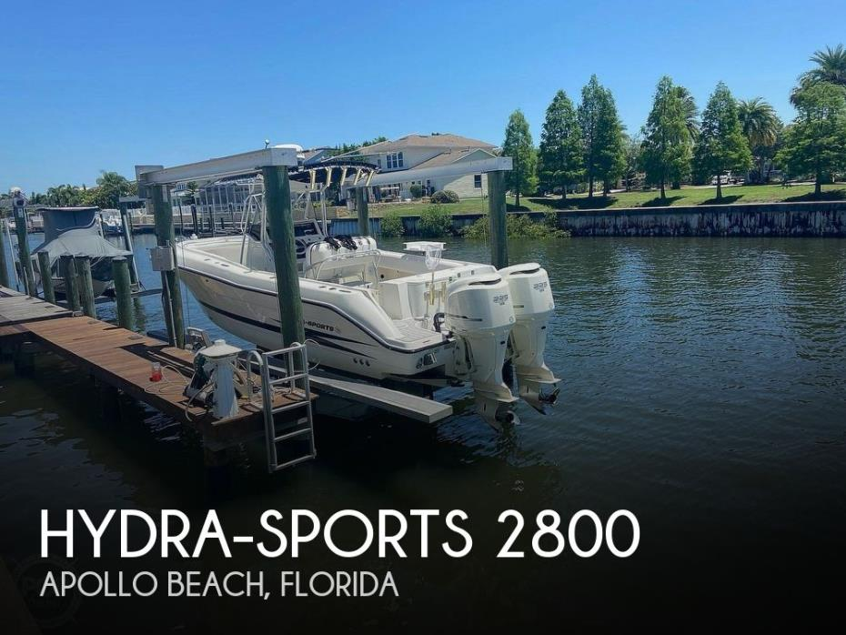 2004 Hydra-Sports 2800