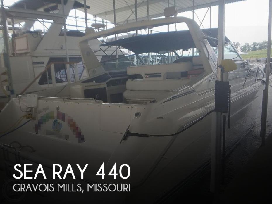 1991 Sea Ray Sundancer 440