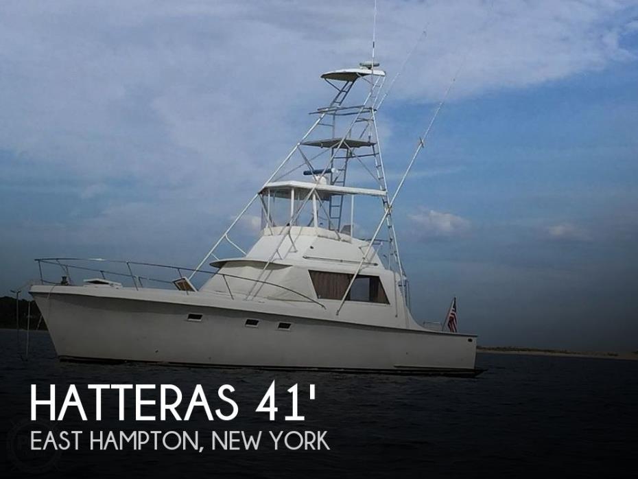 1967 Hatteras 41' Convertible