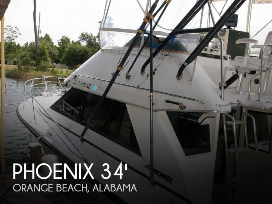 1990 Phoenix 33 Convertible 1990