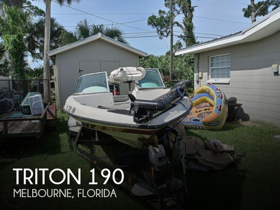 2003 Triton 190 FS