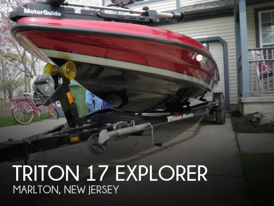 2010 Triton 17 Explorer