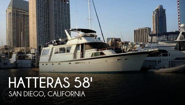 1979 Hatteras 58 Aft Cabin Motor Yacht