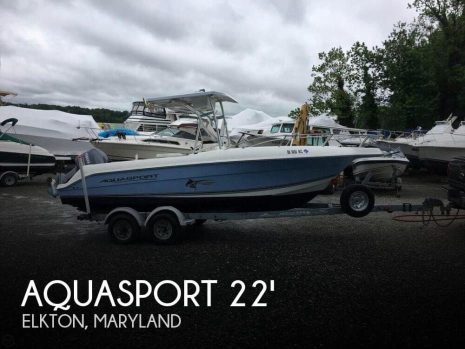 2003 Aquasport 205 Osprey CC