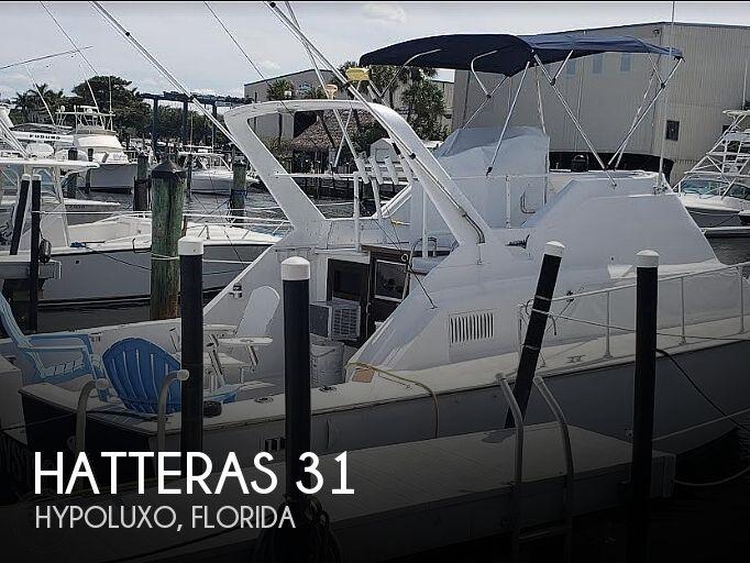 1969 Hatteras 31 Coastal Cruiser