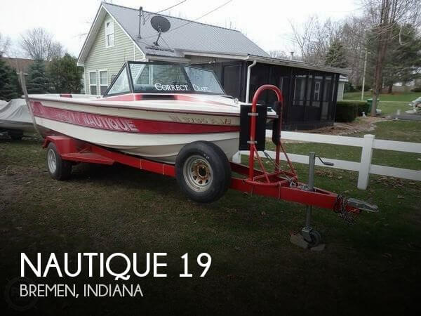 1988 Correct Craft Barefoot Nautique 2001