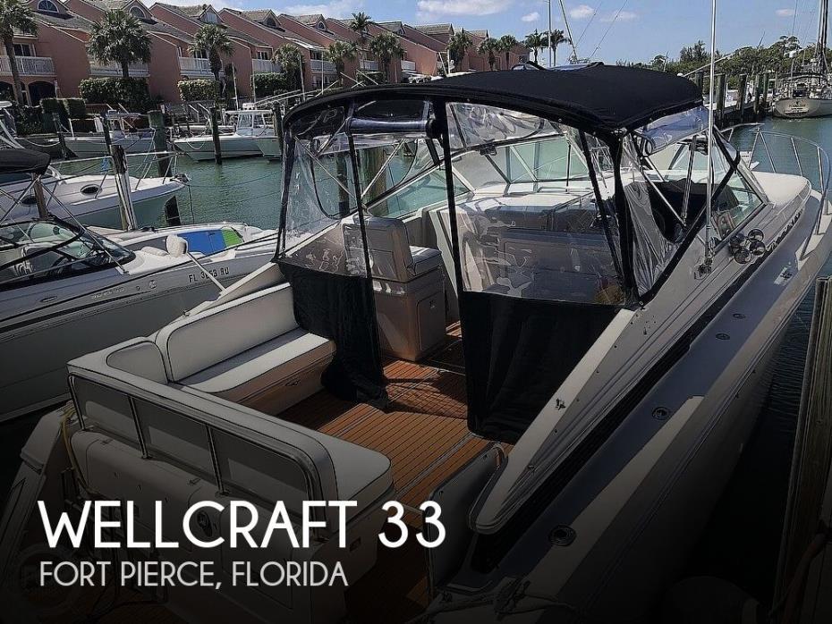 1991 Wellcraft 33 ST. TROPEZ
