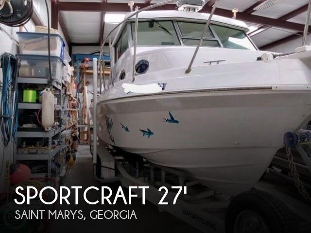 2000 Sportcraft 272 Sportfish