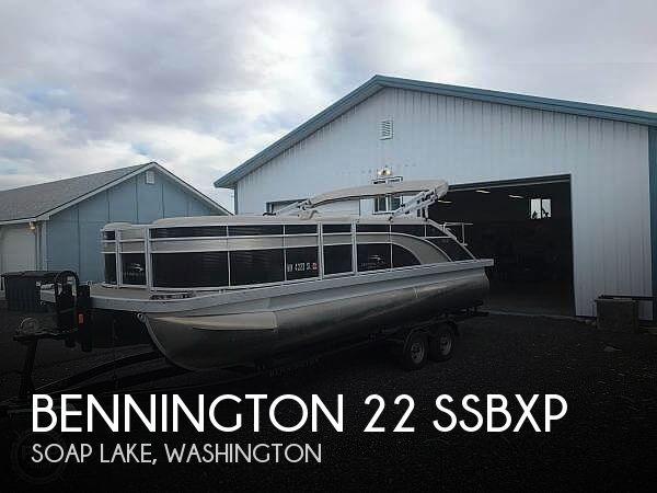 2017 Bennington 22 SSBXP