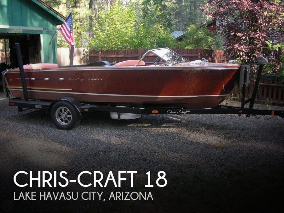 1956 Chris-Craft Continental 18