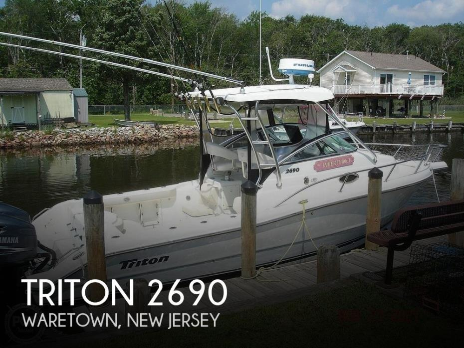 2003 Triton 2690
