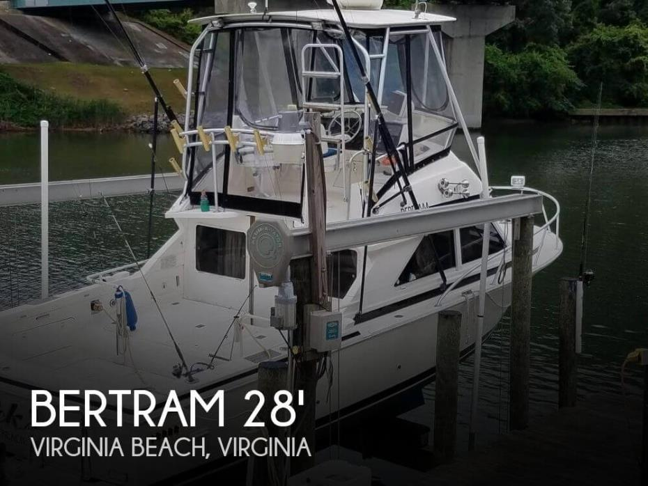 1991 Bertram FB Cruiser 28